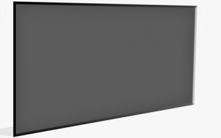 Rear Projection screen greyfire
