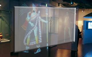 Rear Projection Screen Hologlimm