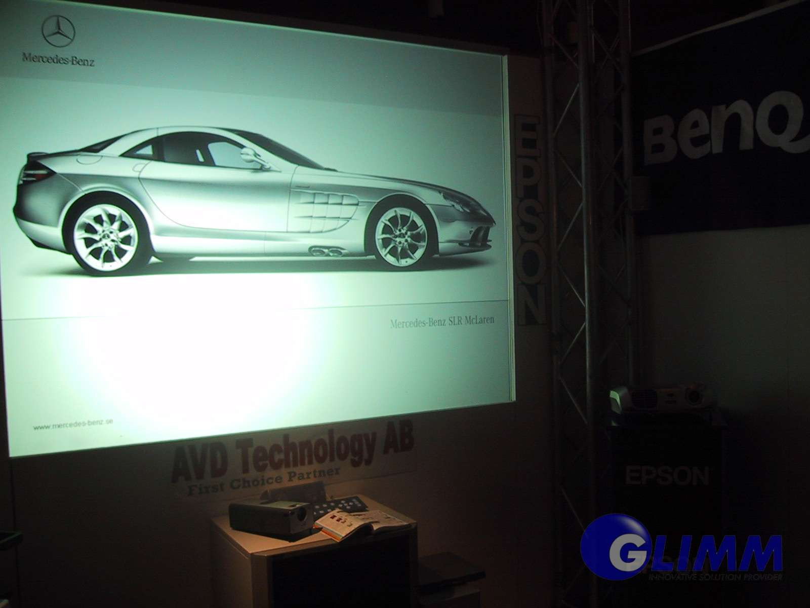 Rear Projection screen greyfire