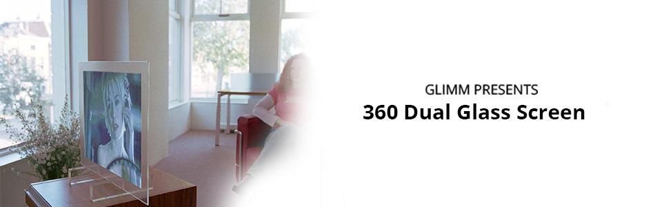 360 dual glass screen