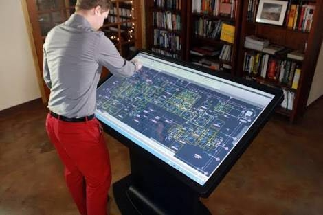 Interactive screen