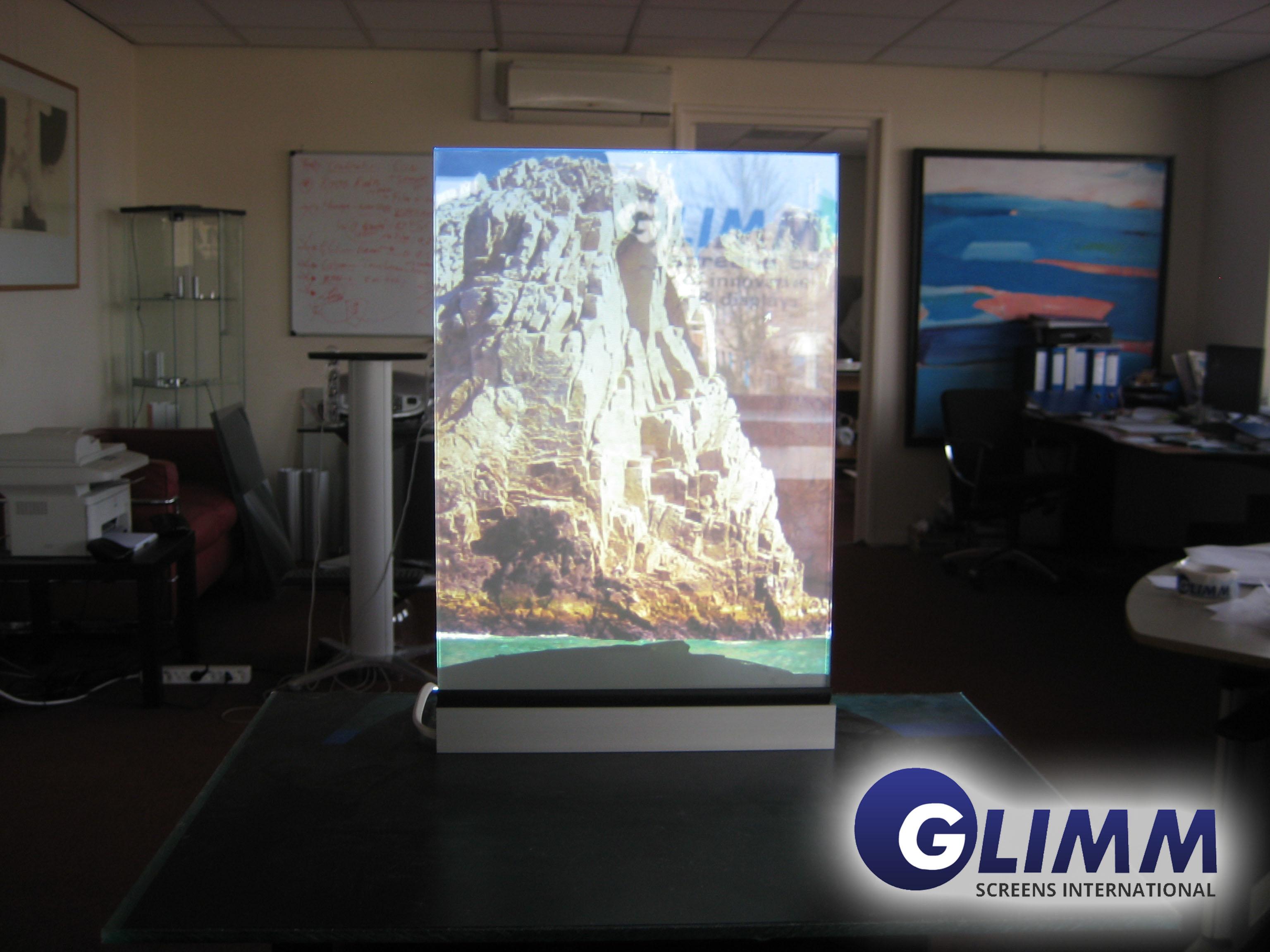 Smart Film On Off2 Glimm Display