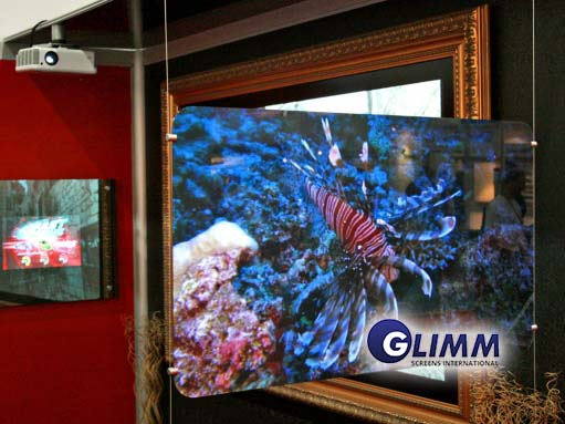 Rear Projection Screen Blackfire