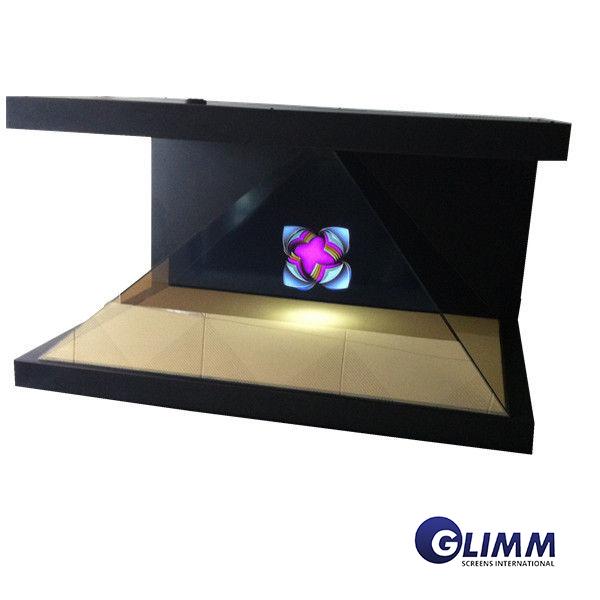 3D Pyramid Hologram System