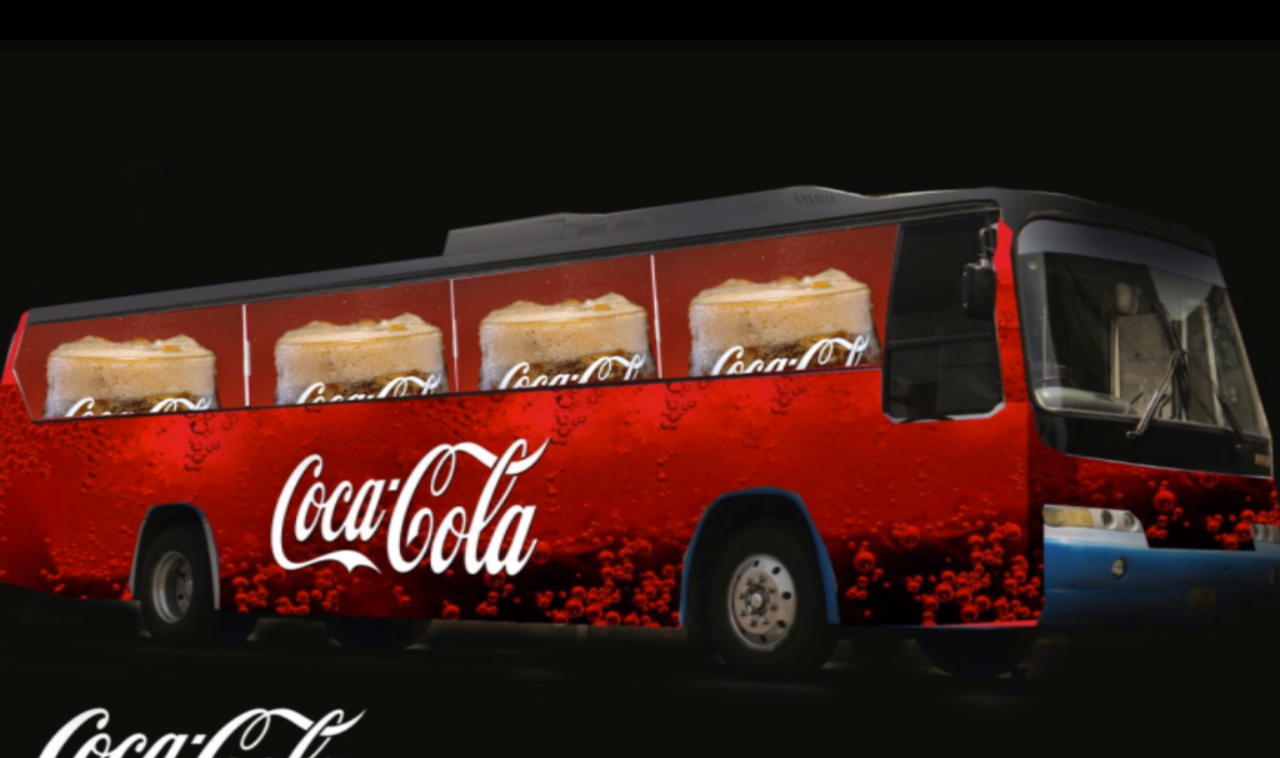Bus Project Coca Cola By Glimm