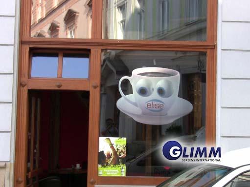 Hologram in Window