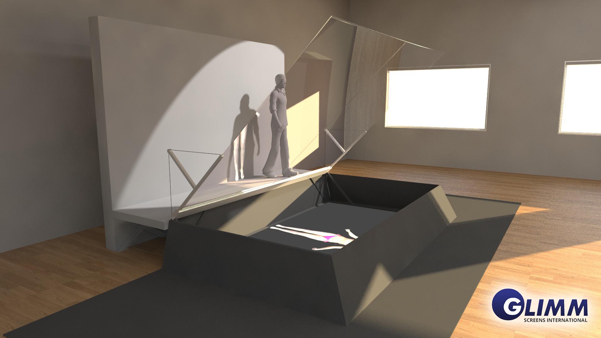 Hologram 3D system
