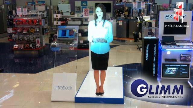 Virtual mannequin a Hologram solution