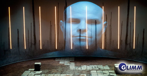 Large 3D Holographic projection