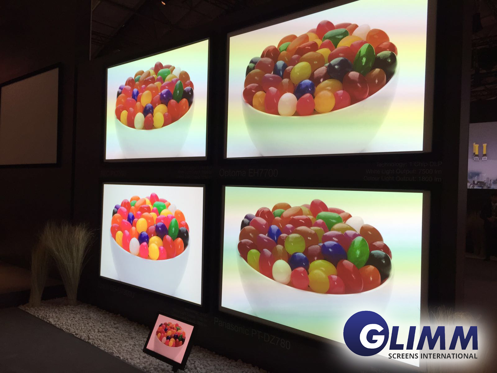 65 interactive touch screen