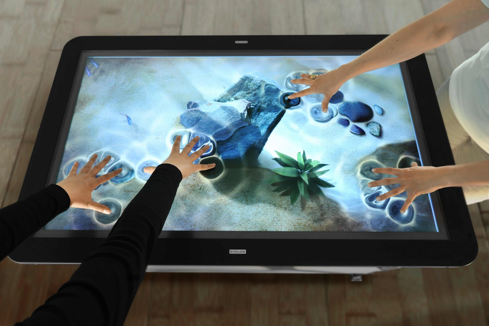 Interactive touch foils