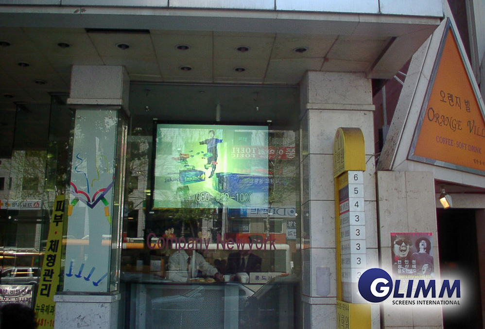 Projection films for window