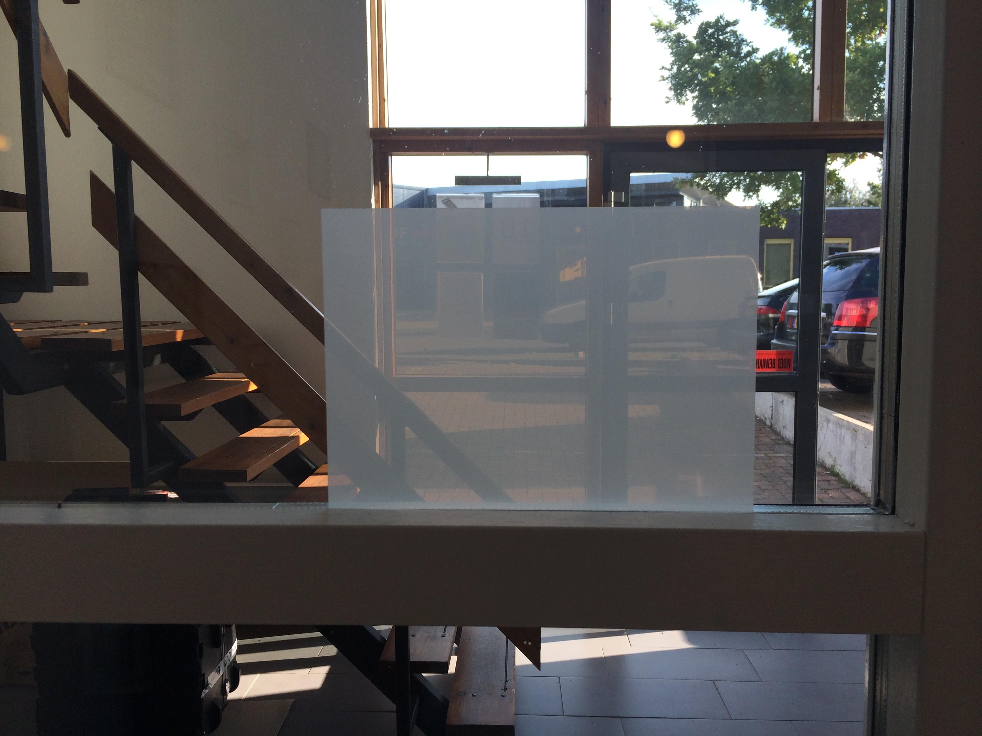 Transparent Rear Projection Film