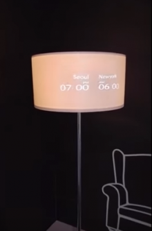 Small Projection in Lamp