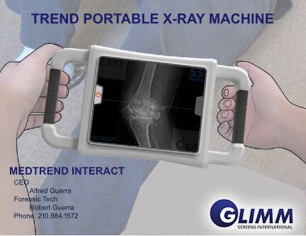 Medical scan with Hologram