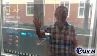 Transparent OLED display