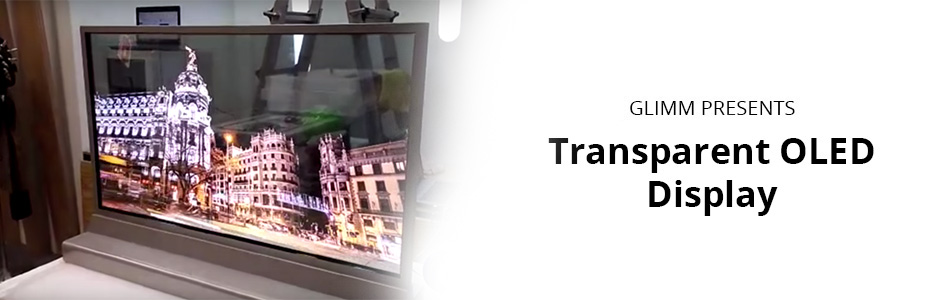 Transparent OLED Display