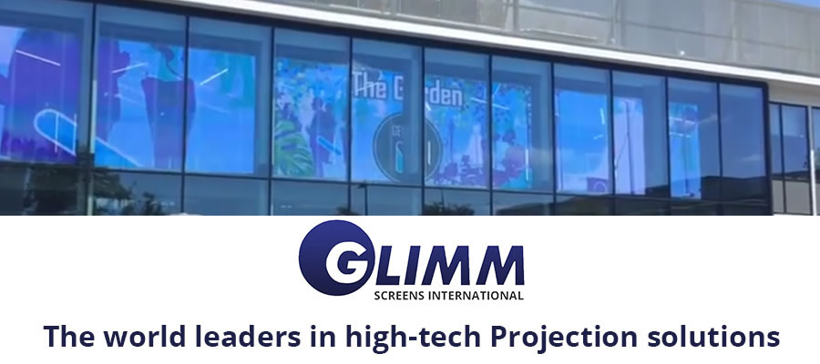Projection films Glimm screen