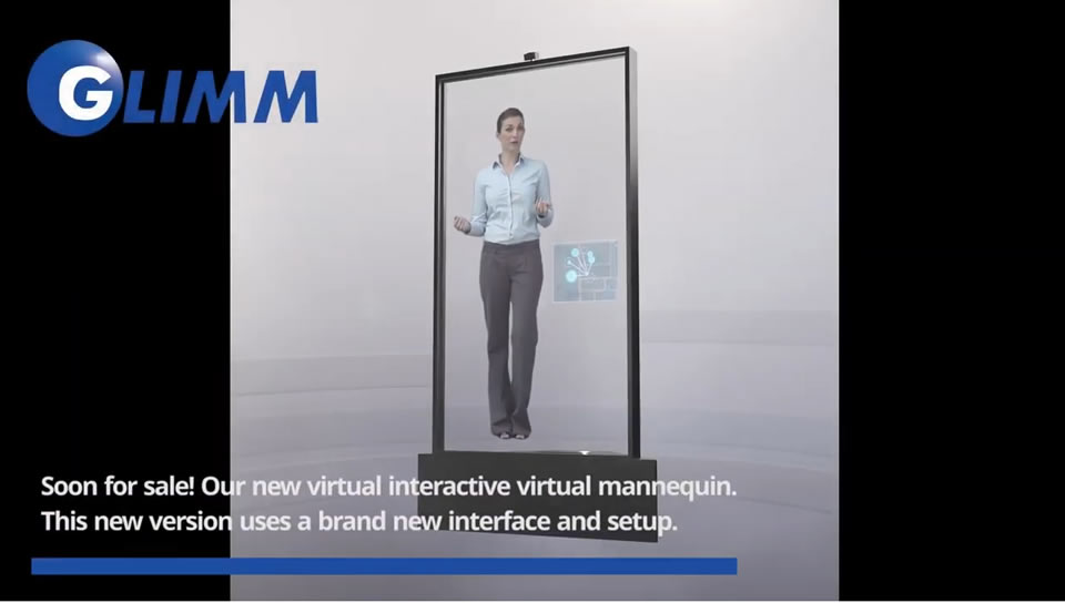 Interactive virtual mannequin