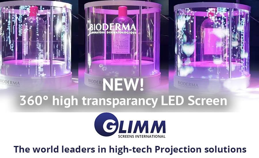 Projection films Glimm screen
