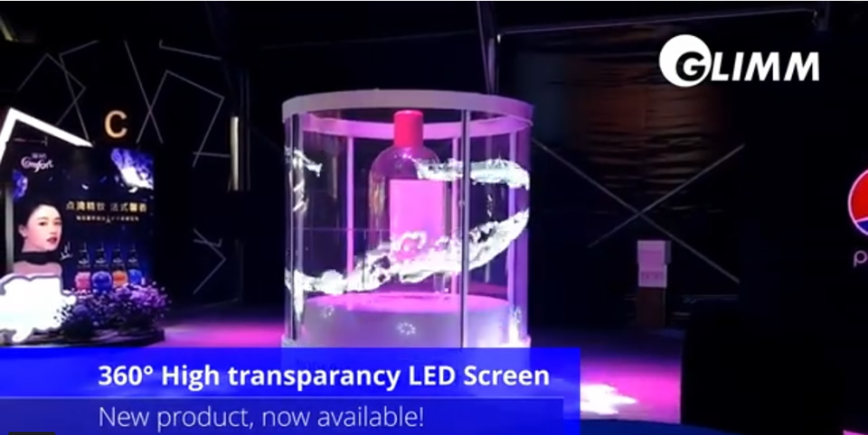 360 Transparent Led display