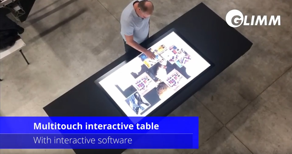 interactive touch table
